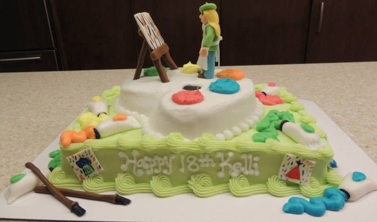Cake Artist 4 You : Artist Cake My Cakes Pinterest