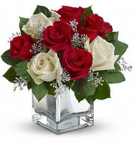 Cute winter flower arrangement