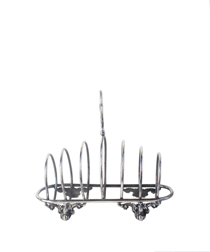 Antique Sterling Silver Toast Rack