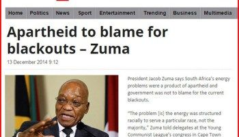 South African President Announces Land Seizures and Blames Whites for Electricity Blackouts