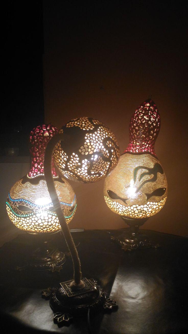 Designed by gourdlampsshop..