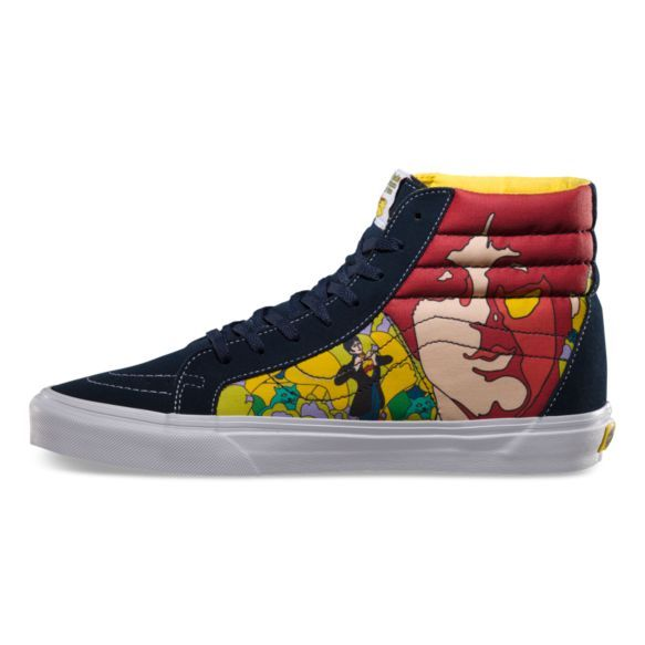 @florindas Ya encontré mi próxima compra online! The Beatles Sk8-Hi Reissue | Shop Vans x The Beatles at Vans