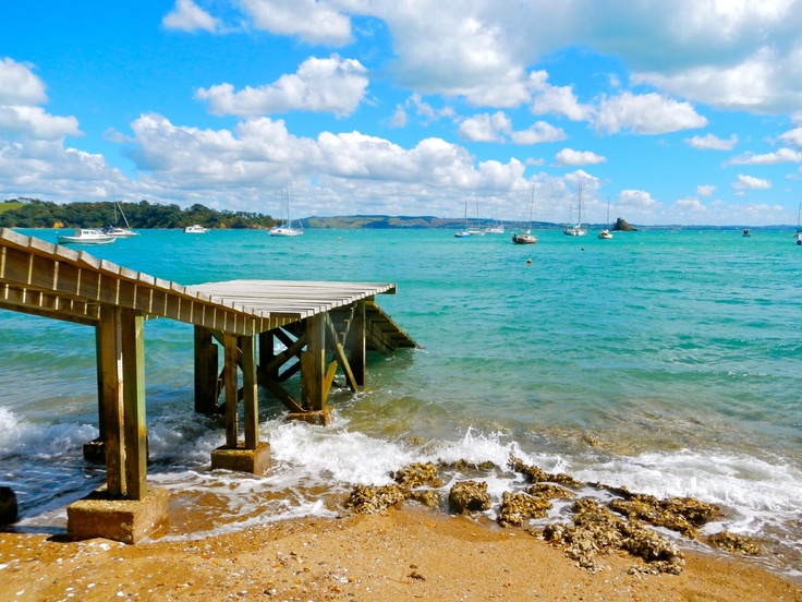 Waiheke Island, New Zealand. Beautiful Wine country, pristine beaches, and crystal waters. Here is your weekly travel mojo!