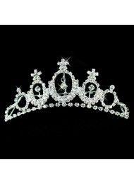 geavanceerde bruids-kroon bruids-haaraccessoires kristal haar hoogtepunt luxe