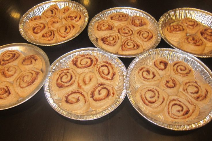 Cinnamon rolls without almond or coconut flour!! Make ahead and freeze for Christmas morning.