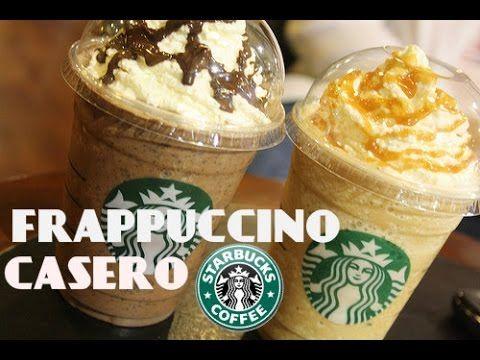 4 Frappuccinos tipo Starbucks (Oreo, Caramelo, Té Verde, Algodón de Azúcar) | KARLA CELIS - YouTube