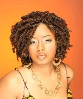 Short Kinky Twist. #shorthair #kinkychicks #kinkycurly #hair #beautiful…