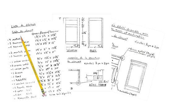 les 12 meilleures images du tableau relev des mesures sur pinterest les mesures bricolage et. Black Bedroom Furniture Sets. Home Design Ideas