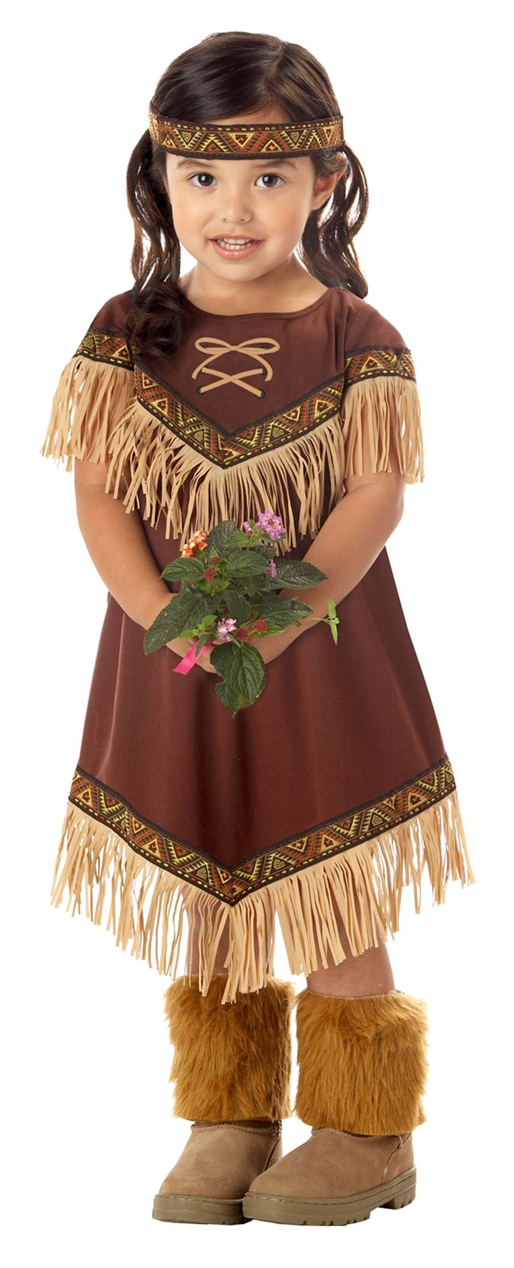 Lil' Indian Princess Toddler / Child Costume from BuyCostumes.com