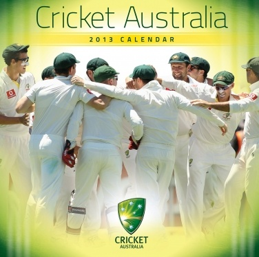 Cricket Australia 2013 calendar