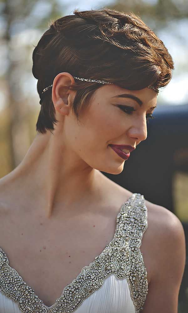 Best 25+ Short wedding hairstyles ideas on Pinterest ...