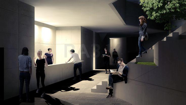 by RA3.14 Architecture & Interior Design | Public Space | Rendering | Architecture Visualization