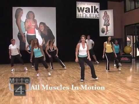 Leslie Sansone 5 Mile Fat Burning Walk - YouTube... Me & my co-workers would do a mile on each break at work.