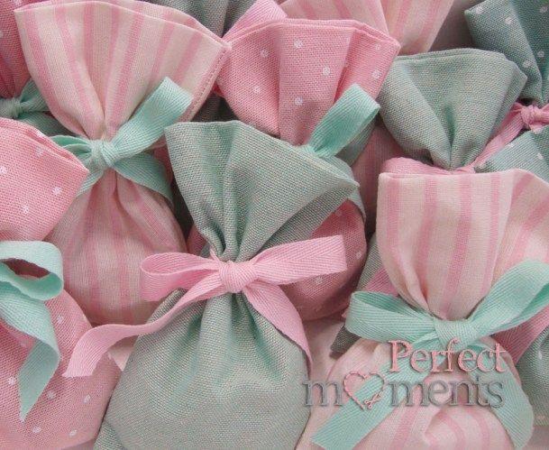Πουγκιά σε χρώματα ροζ βεραμαν ριγε πουα
