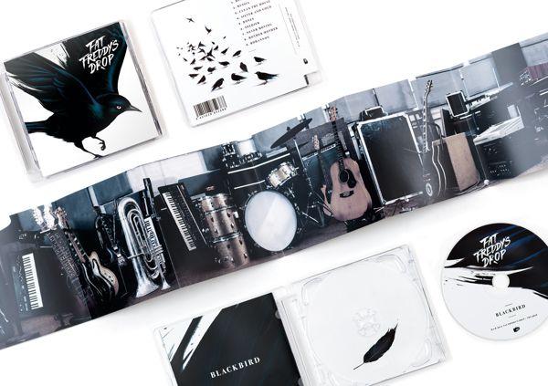Fat Freddy's Drop - Blackbird by Inject Design, via Behance