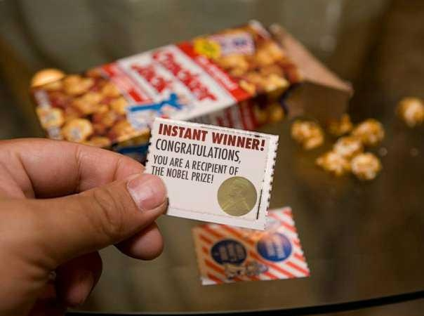 Instant winner!: Nobel Peace Prize, Jacks Nobel Peace, Cracker Jacks Nobel, Jack O'Connell, Funny