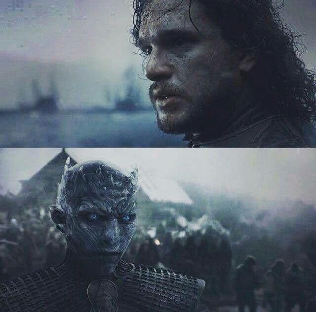 Jon Snow and King Crow - Hardhome - Season 5 Episode 8