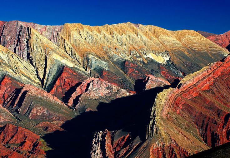 serranias del hornocal Quebrada de Humahuaca – the Ancient Inca Route in Argentina