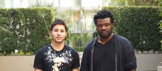 The pair uploaded a video to YouTube that appears to be result of a social experiment in L.A. | Watch The Difference Between A White Guy And A Black Guy Committing The Same Crime