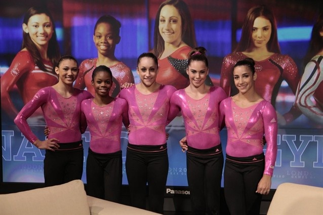 U.S Olympic Women's gymnastics team!!!