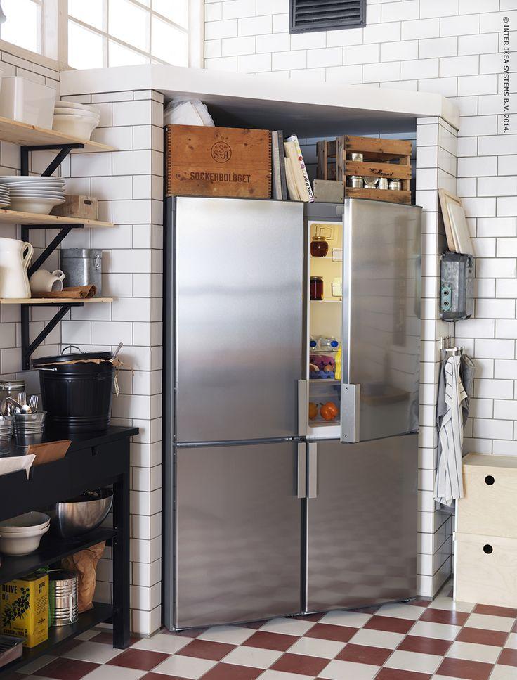 Onze energiebesparende koelkasten en vriezers met A+ of A++ label kunnen je helpen om een verschil te maken voor het milieu en om je energierekening te verlagen.