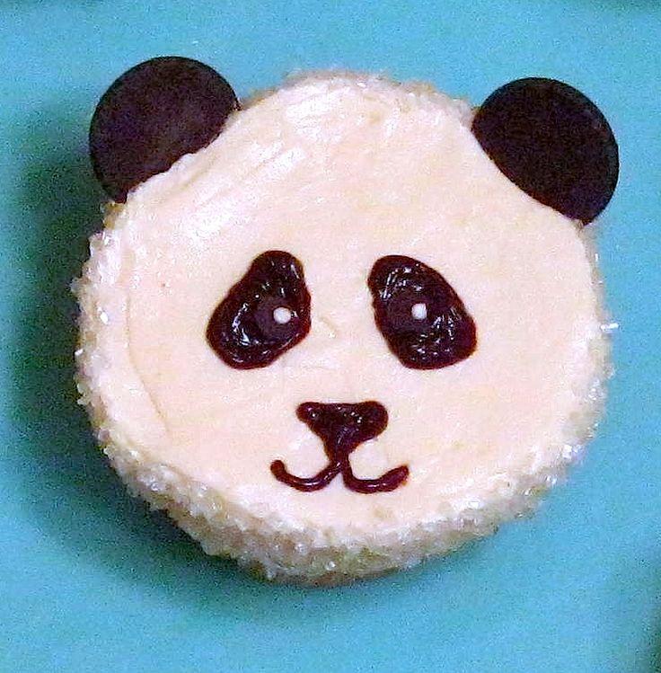 panda cupcake! too cute to eat?!