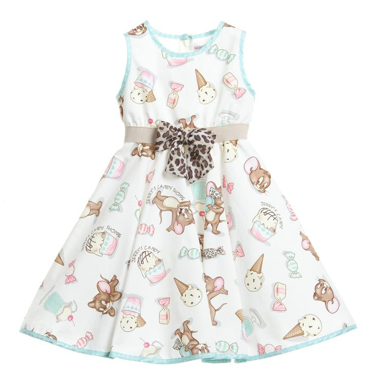 Monnalisa Baby Girls 'Jerry the Mouse' Ice Cream Dress at Childrensalon.com