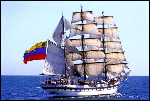Fue construido a pedido de la Armada de Venezuela en 1978, botado al agua el 21 de noviembre de 1979 afirmándose su Pabellón Nacional el 12 de agosto de 1980. Es uno de los cuatro buques escuela de países americanos construidos en los Astilleros Celaya S.A. de Bilbao. Buque Escuela Simón Bolívar, Venezuela