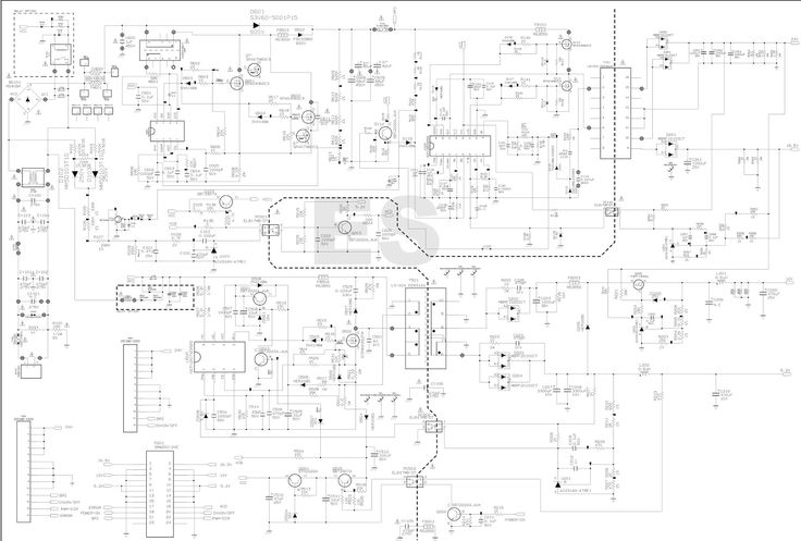 tv schematic diagram and