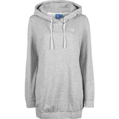 Le sweat à capuche Adidas Casual Long est un sweat doux en coupe extra longue.  #Sweat long; #Femme; #Adidas; #Leguide;