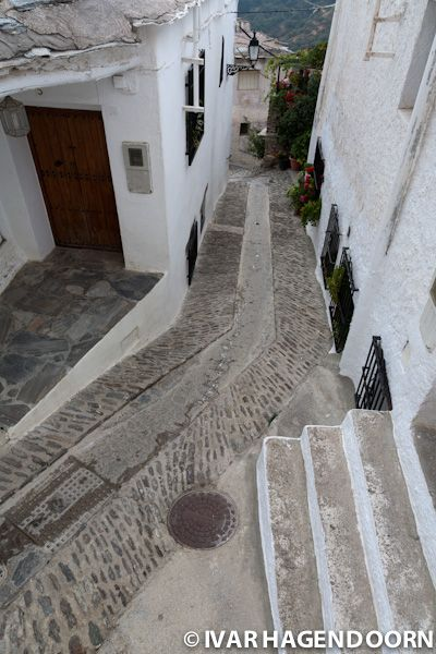 Location: Capileira, Spain  Year: 2011  Comments: The streets have channels for the melting snow. copyright IVAR HAGENDOORN