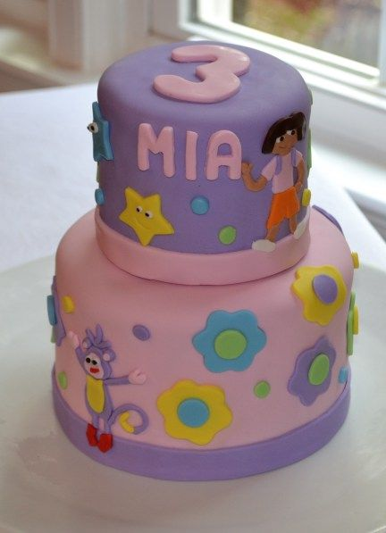 dora birthday cake 17 best images about cakes on shark 3655