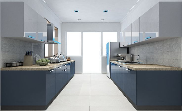 Image Result For Parallel Kitchen Designs India With Dishwasher Unit Parallel Kitchen Design Living Room Kitchen Layout Kitchen Furniture Design