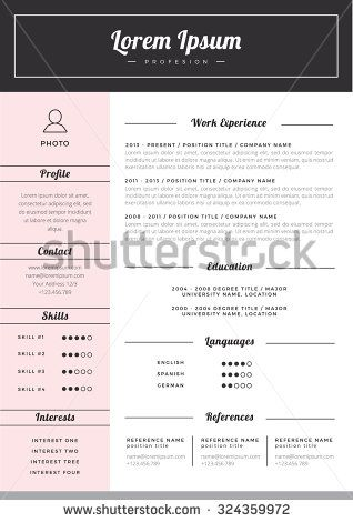 59 best ☆ Resume Templates for Word + Cover Letter images on - buy resume templates