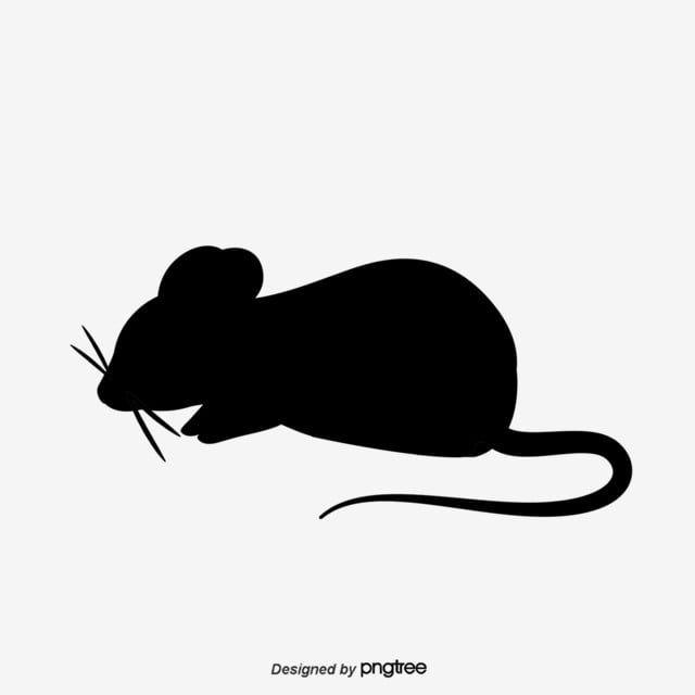 Die Maus Silhouette Maus Clipart Mausvektor Silhouette Vektor Png Und Psd Datei Zum Kostenlosen Download Mouse Silhouette Animal Silhouette Rat Silhouette