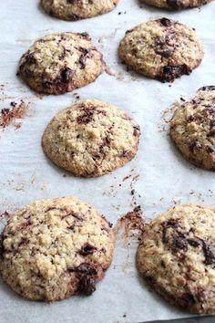 gezonde chocolade havermout koeken
