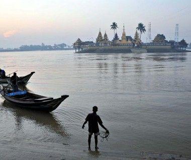 Kyauktan township, Yangon, Myanmar, Asia