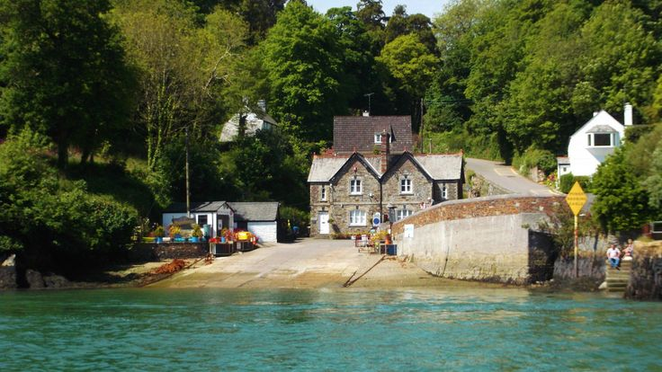 Slipway for King Harry Ferry