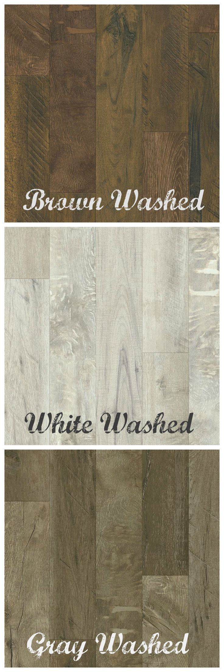 Armstrong Laminate Flooring - Rustics Premium - Forestry Mix in Gray, White, and Brown Washed