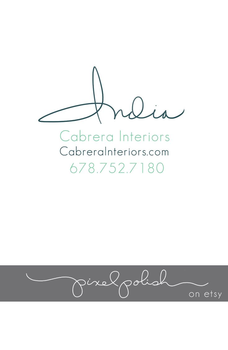 106 best images about logos by pixel polish handwritten for Handwritten business cards