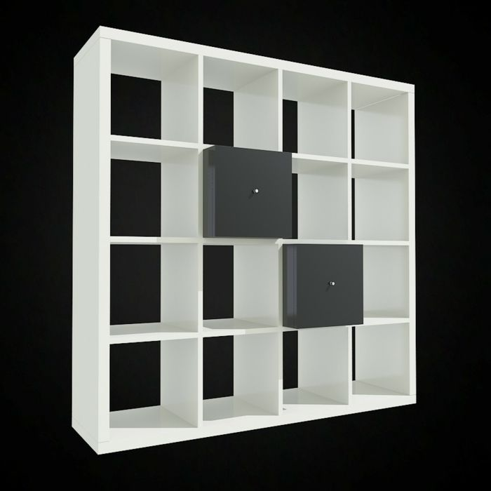 Ikea regal kallax schublade for Kallax ideen