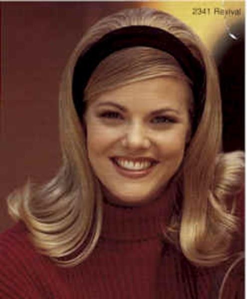 Sixties flip with headband