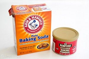 The Difference Between Baking Soda and Baking Powder and how to test if it's still fresh. via simply recipes