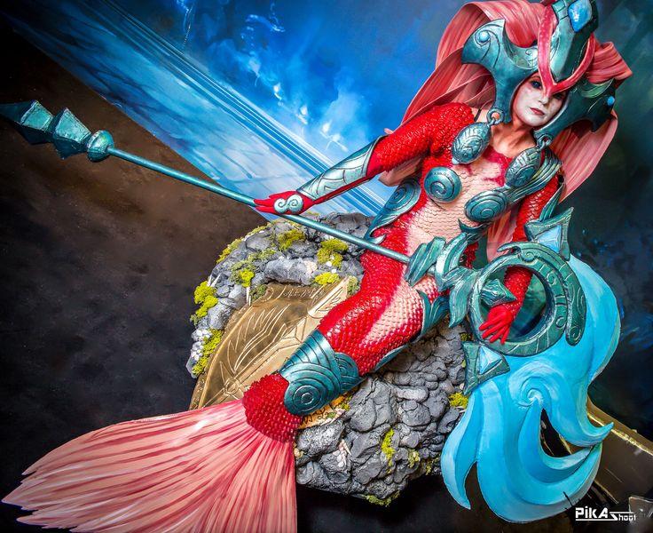 Koi Nami Cosplay - League of legends - Japan Expo by NereideCosplay.deviantart.com on @deviantART