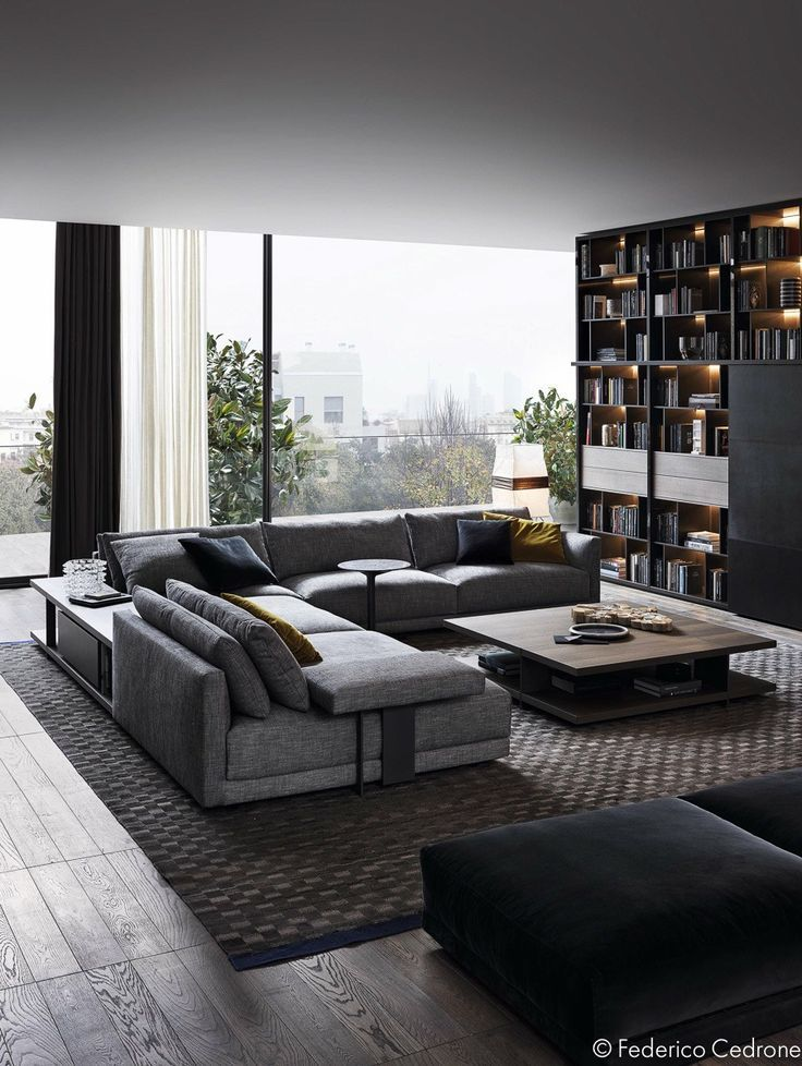 awesome Déco Salon - 3 Unique Living Room Interior Design, Theme and Color