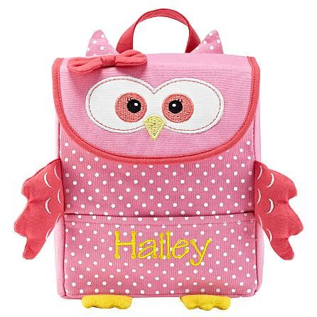 #Personalized owl little critter lunch bag for kids.  #BacktoSchool #cute