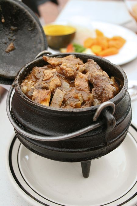 Lamb curry potjie is a real favourite of most South Africans...