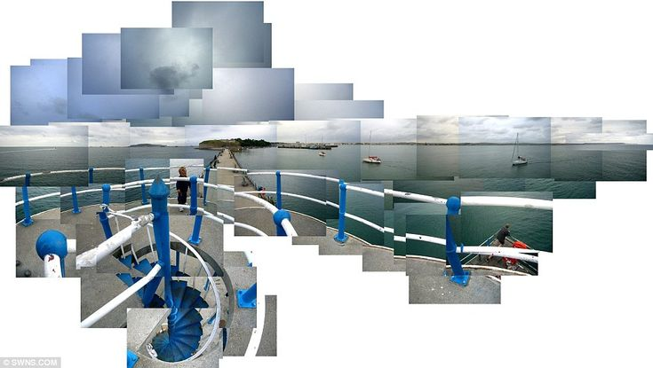 Michael Hallet's Olympic Coast photo-collages