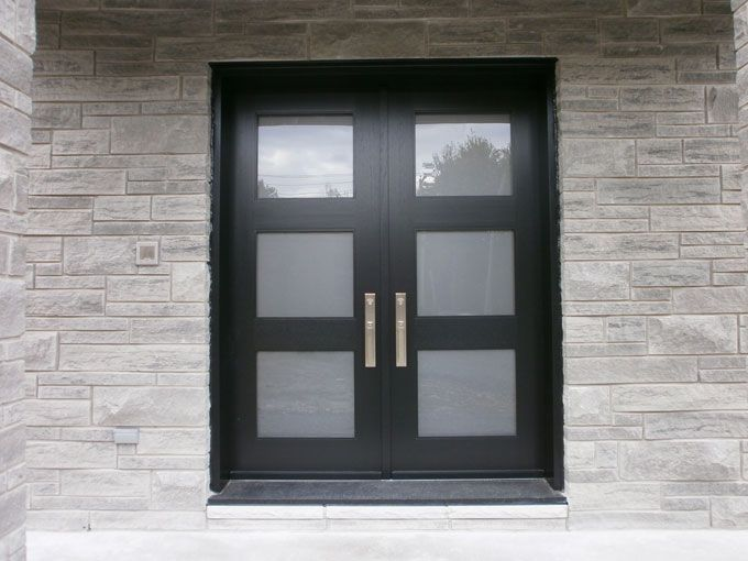 17 best images about modern doors on pinterest villas for Glass exterior doors for home
