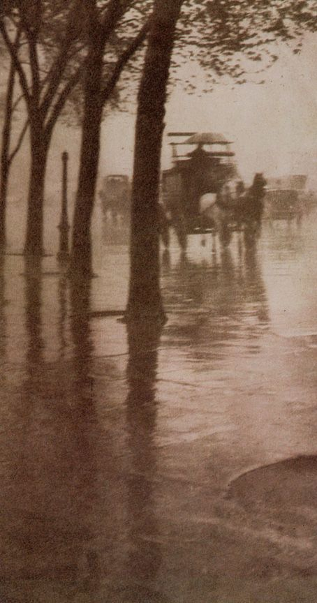 Stieglitz-SpringShowers - Pictorialism - Wikipedia, the free encyclopedia